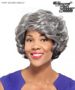 Foxy Silver Full Wig   - SHELLY  Synthetic Full Wig