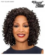 Foxy Silver Lace Front Wig - KERRY  Synthetic Lace Front Wig