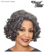 Foxy Silver Lace Front Wig - YVONNE  Synthetic Lace Front Wig