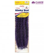 Chade AMOUR Hair Piece - NRT24 NATTY ROD KINKY TWIST 24 Synthetic Hair Piece