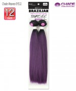 New Born Free Weave Extention - EYS12 Essence Remi Touch Yaki Straight 12 Human Hair Blend Weave
