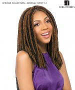 Sensationnel  Synthetic Hair Piece - AFRICAN COLLECTION(LOOP)- SENEGAL TWIST 12