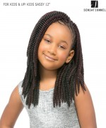 Sensationnel  Synthetic Hair Piece - FOR KIDS & UP! KIDS SASSY 12