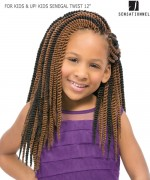 Sensationnel  Synthetic Hair Piece - FOR KIDS & UP! KIDS SENEGAL TWIST 12