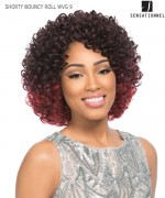 Sensationnel  Human Blend Hair Weave Extention - SHORTY BOUNCY ROLL WVG 9