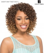 Sensationnel  Human Blend Hair Weave Extention - SHORTY ENVY TWIST WVG 9