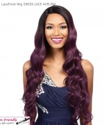 It's a wig Synthetic  Lace Front - SWISS LACE AVELINA