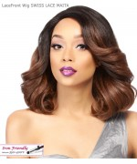 It's a wig Synthetic  Lace Front - SWISS LACE MAITA