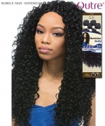 Outre Dominican Curly Bundle Hair Premium Fiber 18+20+20+22+Parting Piece