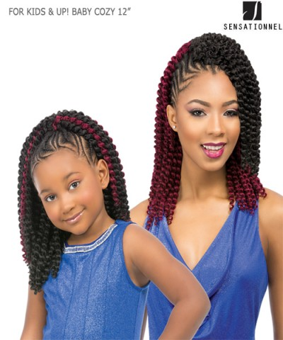 sensationnel for kids up baby cozy 12 hair piece