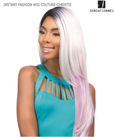 Sensationnel 100% PREMIUM FIBER Synthetic Full Wig - INSTANT FASHION WIG COUTURE-CHRISTIE
