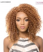 It's a wig Synthetic  Lace Front - LACE DANCE