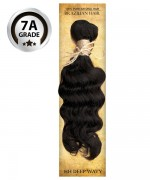 Top Hair Design  - BRAZILIAN 100% Virgin Human Hair HH DEEP WAVY(NATURAL COLOR) -  7A GRADE (105 Gram)