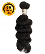 Top Hair Design  - BRAZILIAN 100% Virgin Human Hair HH DEEP WAVY(NATURAL COLOR) -  9A GRADE (105 Gram)