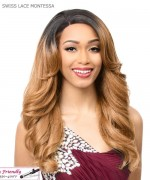 It's a wig Synthetic Futura Lace Front - SWISS LACE MONTESSA