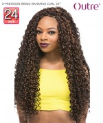 Outre Braid - X-PRESSION BRAID BAHAMAS CURL 24  Synthetic Braid