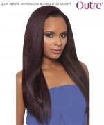 Outre  - QUIK WEAVE BATIK  DOMINICAN BLOW OUT STRAIGHT  Synthetic Half Wig