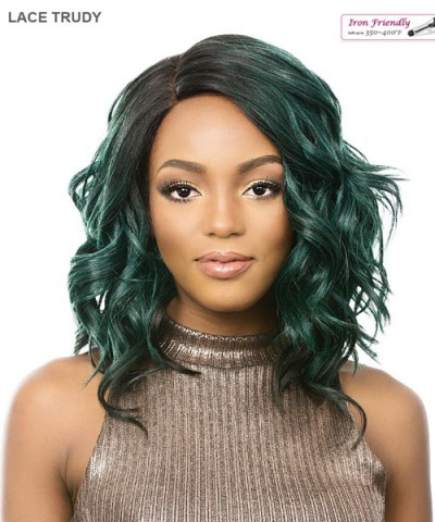 It's a wig Synthetic  Lace Front - LACE TRUDY