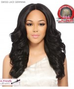 It's a wig Synthetic  Lace Front - SWISS LACE GERMANA