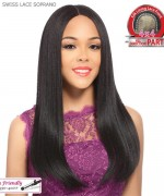 It's a wig Synthetic  Lace Front - SWISS LACE SOPRANO