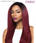 Outre  LACEFRONT SWISSX - RISA  Synthetic Lace Front Wig