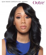 Outre Full Wig - QUIK WEAVE COMPLETE CAP - BRENDA  Synthetic Full Wig