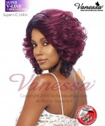 Vanessa Full Wig KARA - Synthetic SUPER V-LINE C-SIDE LACE PART Full Wig