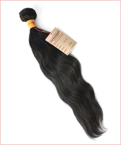 Unprocessed Brazilian Remi Human Hair Weave Extensions - Natural Wave