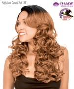 New Born Free Synthetic Lace Front Wig - MAGIC LACE CURVED PART MLC184