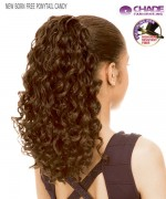 New Born Free Hair Piece - PONYTAIL CANDY  Synthetic Hair Piece