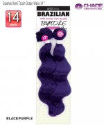 New Born Free Human Hair Blend Weave extention - Essence Remi Touch Ocean Wave 14""