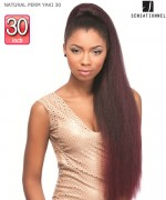 Sensationnel  Synthetic Hair Piece - INSTANT PONY - NATURAL PERM YAKI 30