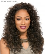 Sensationnel 100% PREMIUM FIBER Synthetic Half Wig - INSTANT WEAVE -VEGAS
