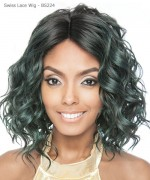 ISIS COLLECTION Brown Sugar Human Hair Blend Soft Swiss Lace Wig - BS224