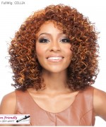 It's a wig Synthetic  Full Wig - CELLIA