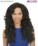New Born Free Synthetic Lace Front Wig - MLC180 MAGIC LACE CURVED PART WIG