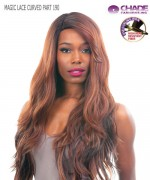 New Born Free Synthetic Lace Front Wig - MAGIC LACE CURVED PART MLC190