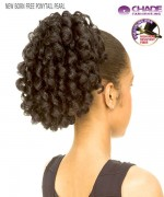 New Born Free Hair Piece - PONYTAIL PEARL  Synthetic Hair Piece