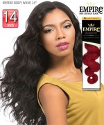 Sensationnel  Remi Human Hair Weave Extention - EMPIRE BODY WAVE 14