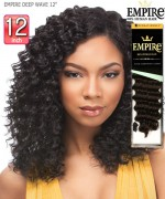 Sensationnel  Remi Human Hair Weave Extention - EMPIRE DEEP WAVE 12