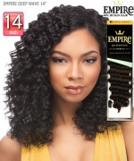 Sensationnel  Remi Human Hair Weave Extention - EMPIRE DEEP WAVE 14