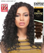 Sensationnel  Remi Human Hair Weave Extention - EMPIRE LOOSE DEEP 12