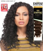 Sensationnel  Remi Human Hair Weave Extention - EMPIRE LOOSE DEEP 14