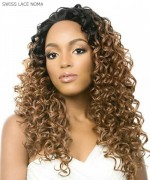 It's a wig Synthetic Lace Front Wig - SWISS LACE NOMA