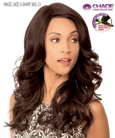 New Born Free Synthetic Lace Front Wig - MAGIC LACE U-SHAPE WIG MLU13