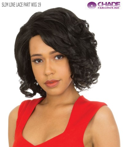New Born Free Synthetic Lace Front Wig - SLIM LINE LACE PART WIG SLW19