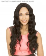 New Born Free   MAGIC LACE U-SHAPE HUMAN HAIR WIG- MLUH96