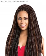 Sensationnel  Synthetic Braid - AFRICAN COLLECTION - 3X BOX BRAID 14""