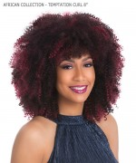Sensationnel  Synthetic Braid - AFRICAN COLLECTION - TEMPTATION CURL 8""