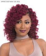 Sensationnel   Human Hair Weave Extention - EMPIRE DEEP WAVE 10S 3PCS